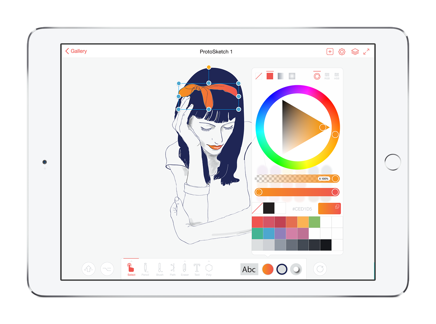 ProtoSketch – Graphic Design and Prototypes made Easy